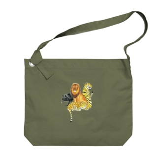 ネコ科 Big shoulder bags