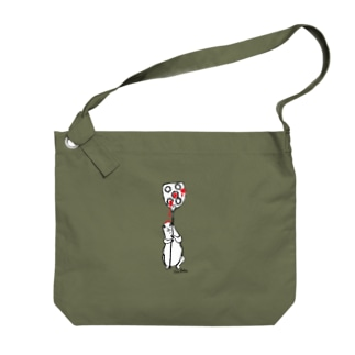 ジャム受け係のプレーリードッグ Big shoulder bags
