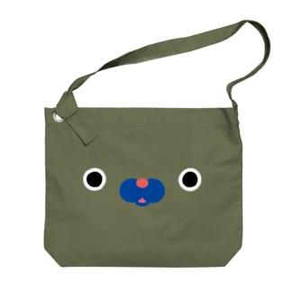 きりんフェイス Big shoulder bags