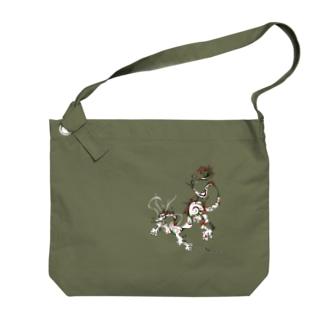龍 A Big shoulder bags