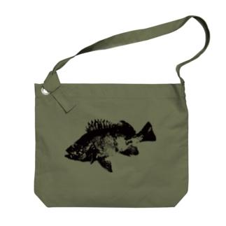 メバル専用~メバル爆釣祈願~眼張 Big shoulder bags