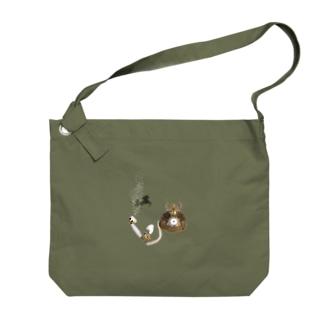 ユメカワ Big shoulder bags