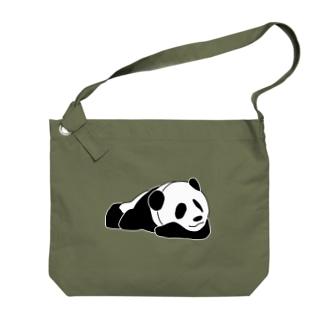 ジャパニーズスタンダードのおやすみパンダ Big shoulder bags
