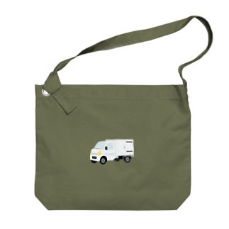 mainoilkoの軽貨物車2 Big shoulder bags