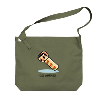 KOKESHI-nglish : GO AHEAD! Big shoulder bags