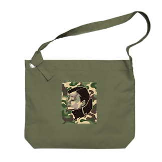 ANN/GreenCamo Big shoulder bags