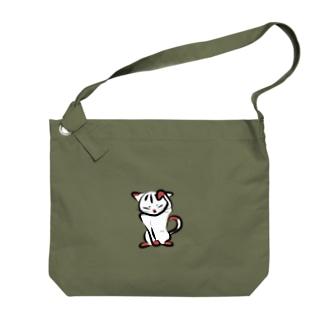 寝子-neko- Big shoulder bags
