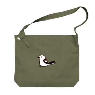 シマエナガ Big shoulder bags