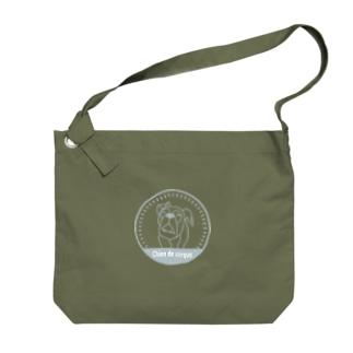 ルーナエンブレム Big shoulder bags