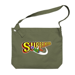 P-TOSHIのスーパーヒーローズ Big shoulder bags