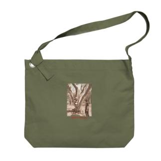 ツチノコ探検隊バッグ Big shoulder bags