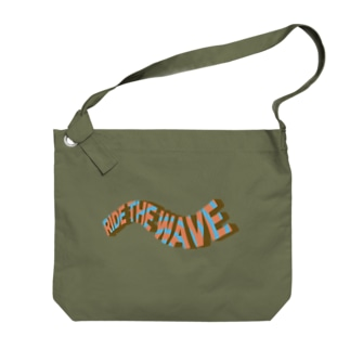 ライドザウェーブ ヴィンテージ風 Big shoulder bags