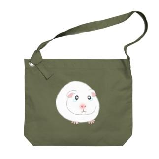 泣き虫モルモット Big Shoulder Bag