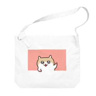 ヤホ!ってしてるコビハムちゃん Big shoulder bags