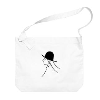風と帽子のつくしちゃん Big shoulder bags