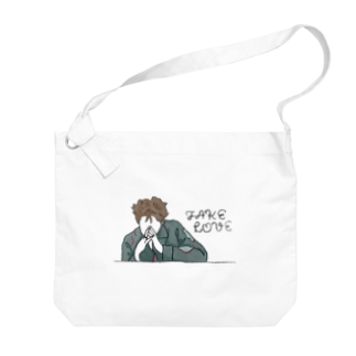 mksnのDRAW FAKE LOVE RM Big shoulder bags