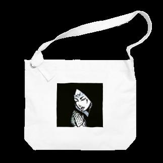 Re:Morayのぶらっくまりあ Big shoulder bags