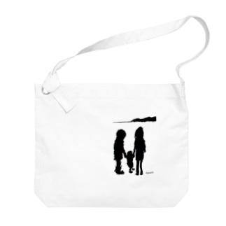 family Big shoulder bags