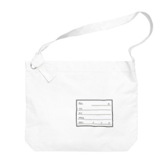 標本ラベル Big shoulder bags