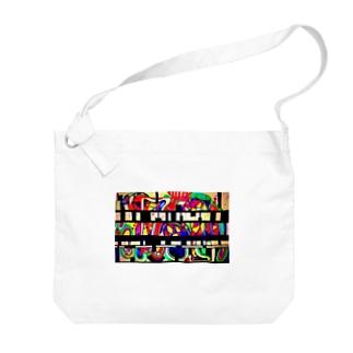 暗号 Big shoulder bags