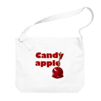 りんご飴 Big shoulder bags