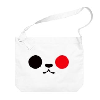 ゆるパンダアップ 日の丸style Big shoulder bags