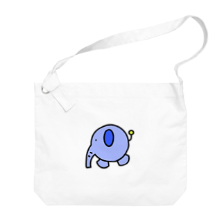 isaisaiisaaの丸ゾウ Big shoulder bags