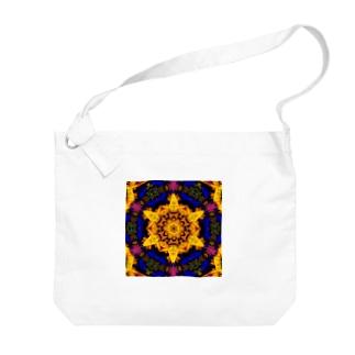 ヘキサグラム_001 Big Shoulder Bag