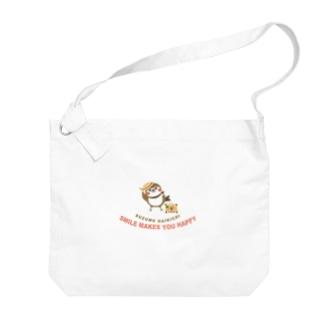 Hello! すずめだいきち Big shoulder bags