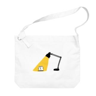お文具の日光浴 Big shoulder bags