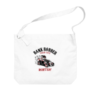 Bank Robber Big shoulder bags