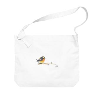 -KIBITAKI No.1- Bird call Big shoulder bags