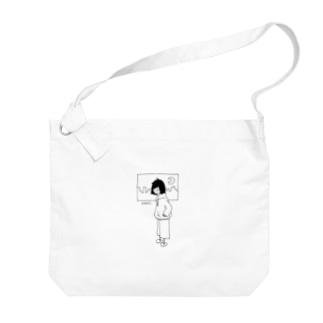 絶起ちゃん Big shoulder bags