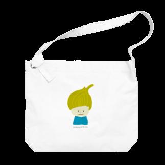 Zakuro-KayokoKawataのタマネギ坊や Big shoulder bags