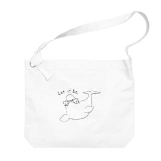 インテリシロイルカ「Let it be.」 Big shoulder bags