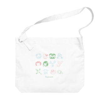 ema-emama『12星座 Horoscope』 Big shoulder bags