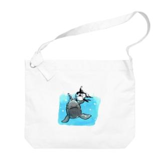 オキゴン&カマ Big shoulder bags