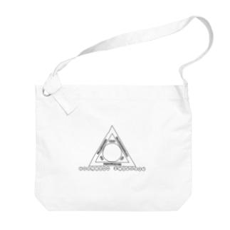 Akuma no sankaku Big shoulder bags