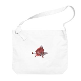 不思議の国のアリス Big shoulder bags
