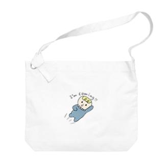 BeBe ~飛んでいく ~ Big shoulder bags