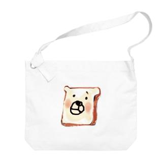 パンくまさん Big shoulder bags