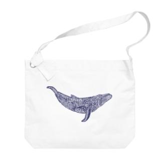 座頭鯨 Big shoulder bags