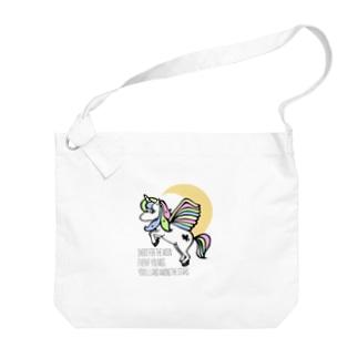 ペガコーン Big shoulder bags