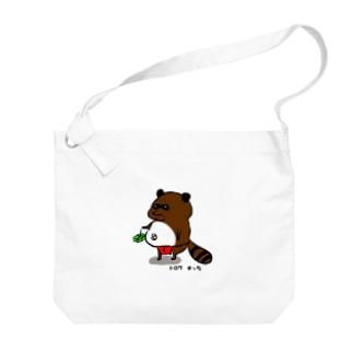 たぬきのオッサン Big shoulder bags