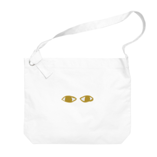 aiko_Blessing_のメジェド様の目 Big shoulder bags