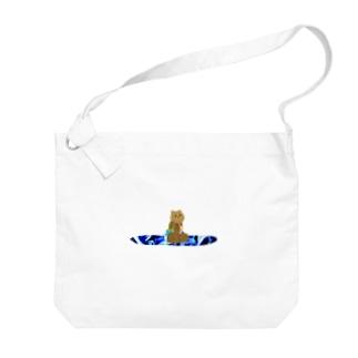 くまさーふ4 Big shoulder bags