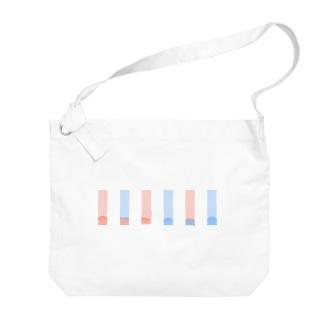 リトマス試験紙 Big shoulder bags