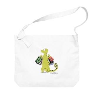 Little Dinosaur  Big shoulder bags