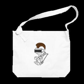 ウサネコのナイツ・アーチェリー Big shoulder bags