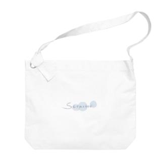 空色soracoco Big shoulder bags